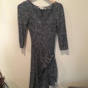 Max Studio grey marled dress